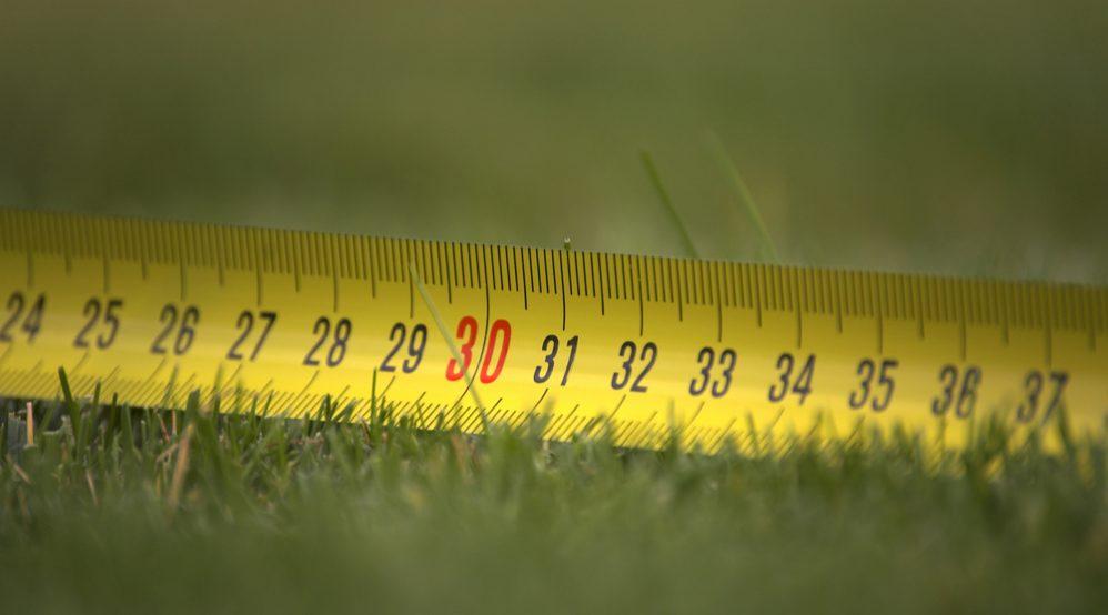 Determine lawn size