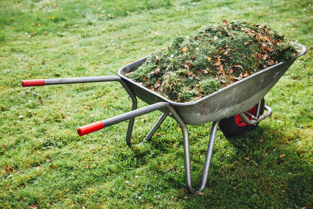 Excellent way to recycle garden waste