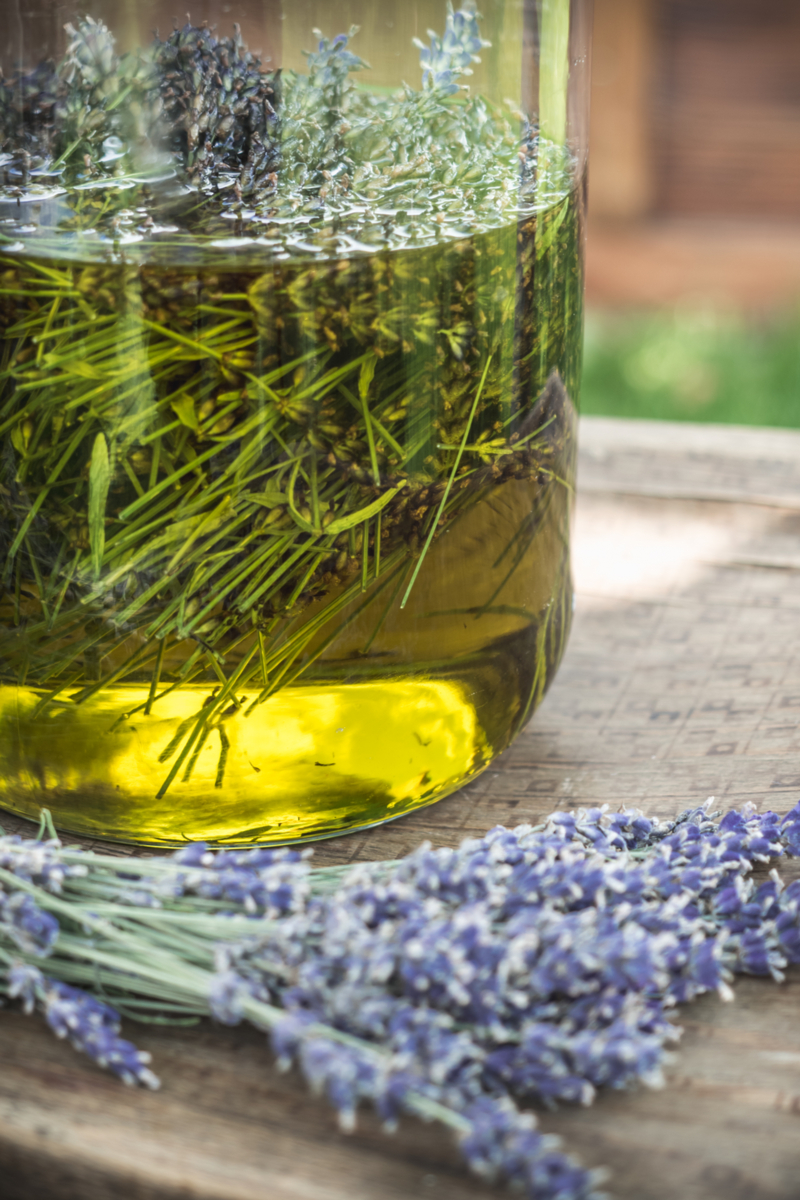 Lavender Oil Technique - Cold Oil Infusion