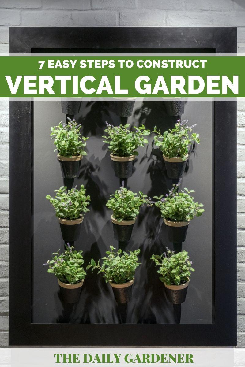 construct vertical garden 2
