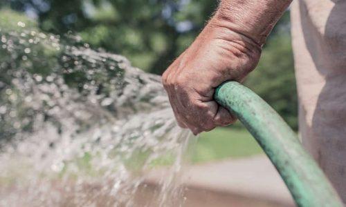saving garden water