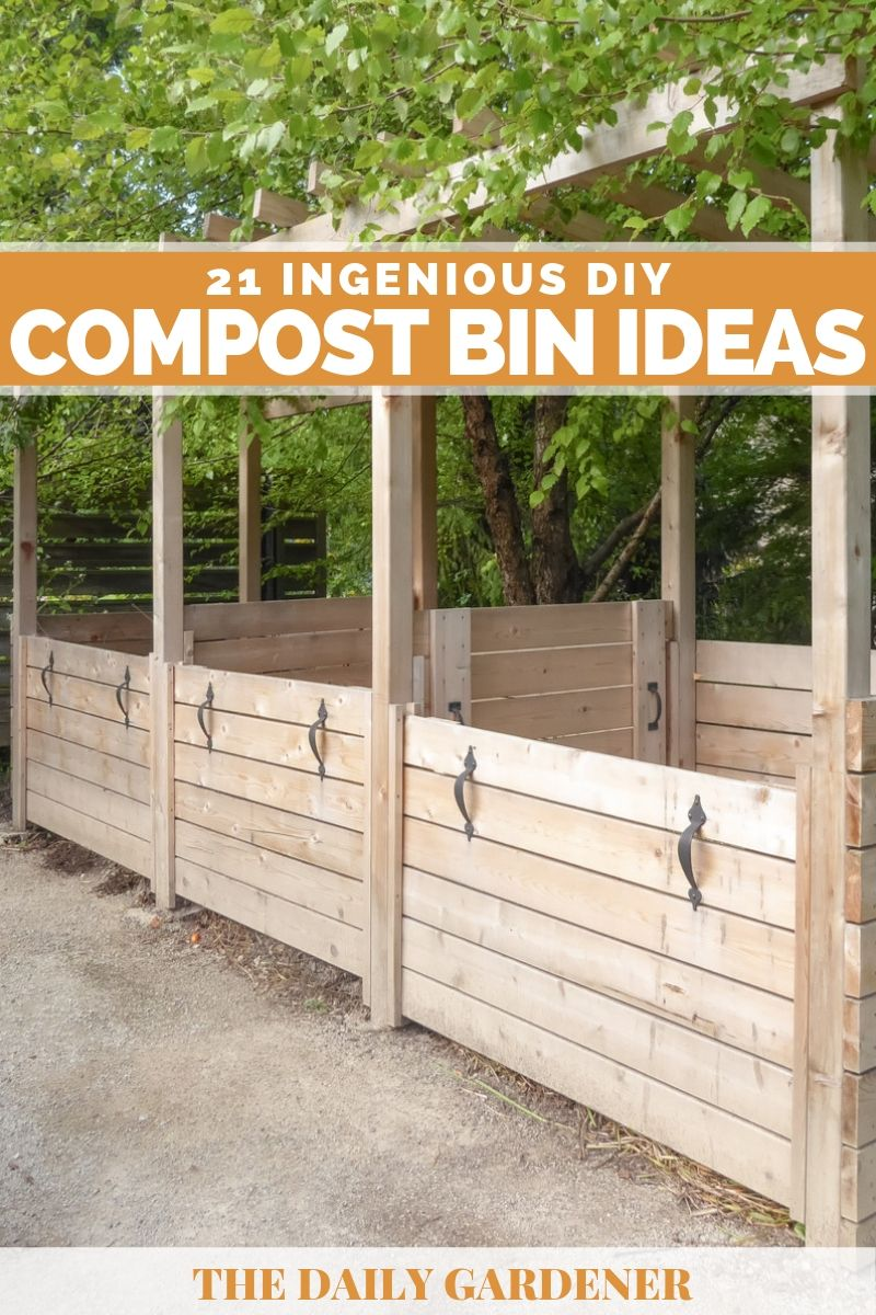 21 Ingenious DIY Compost Bin Ideas You can Try - The Daily ...