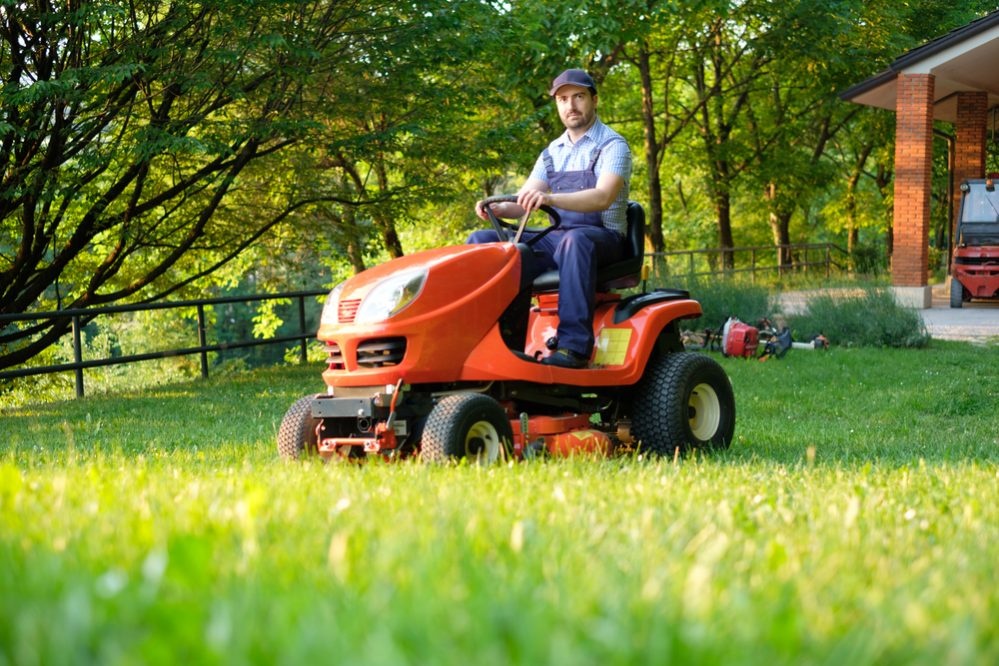 best Riding Lawn Mower size