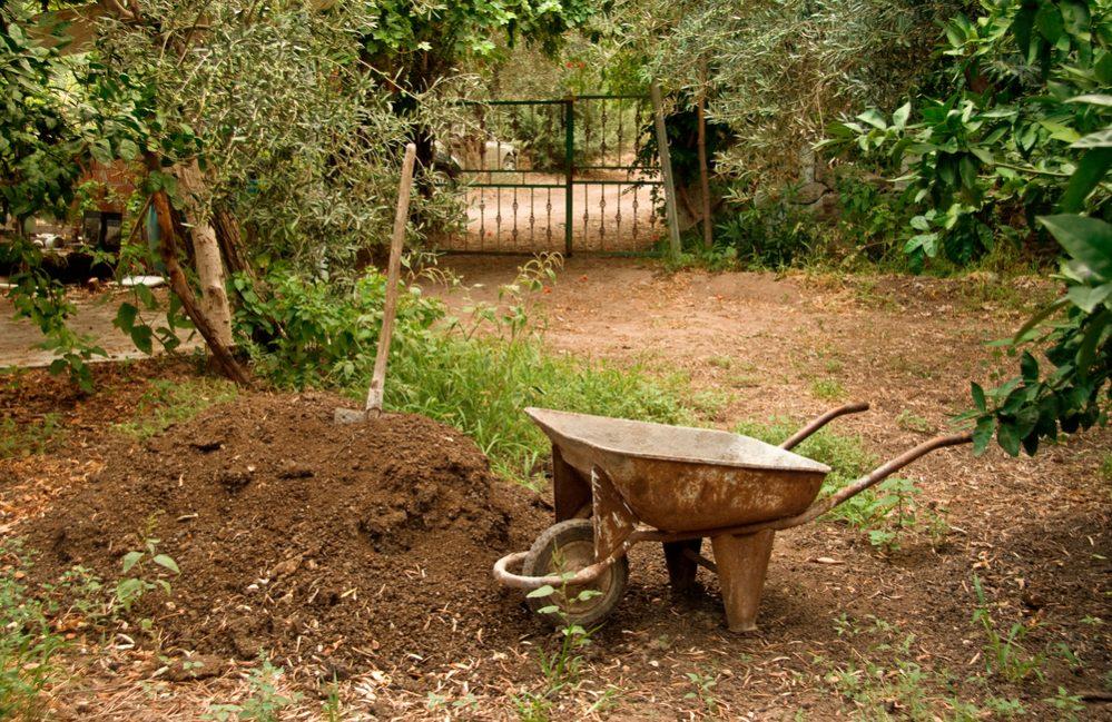 manure using