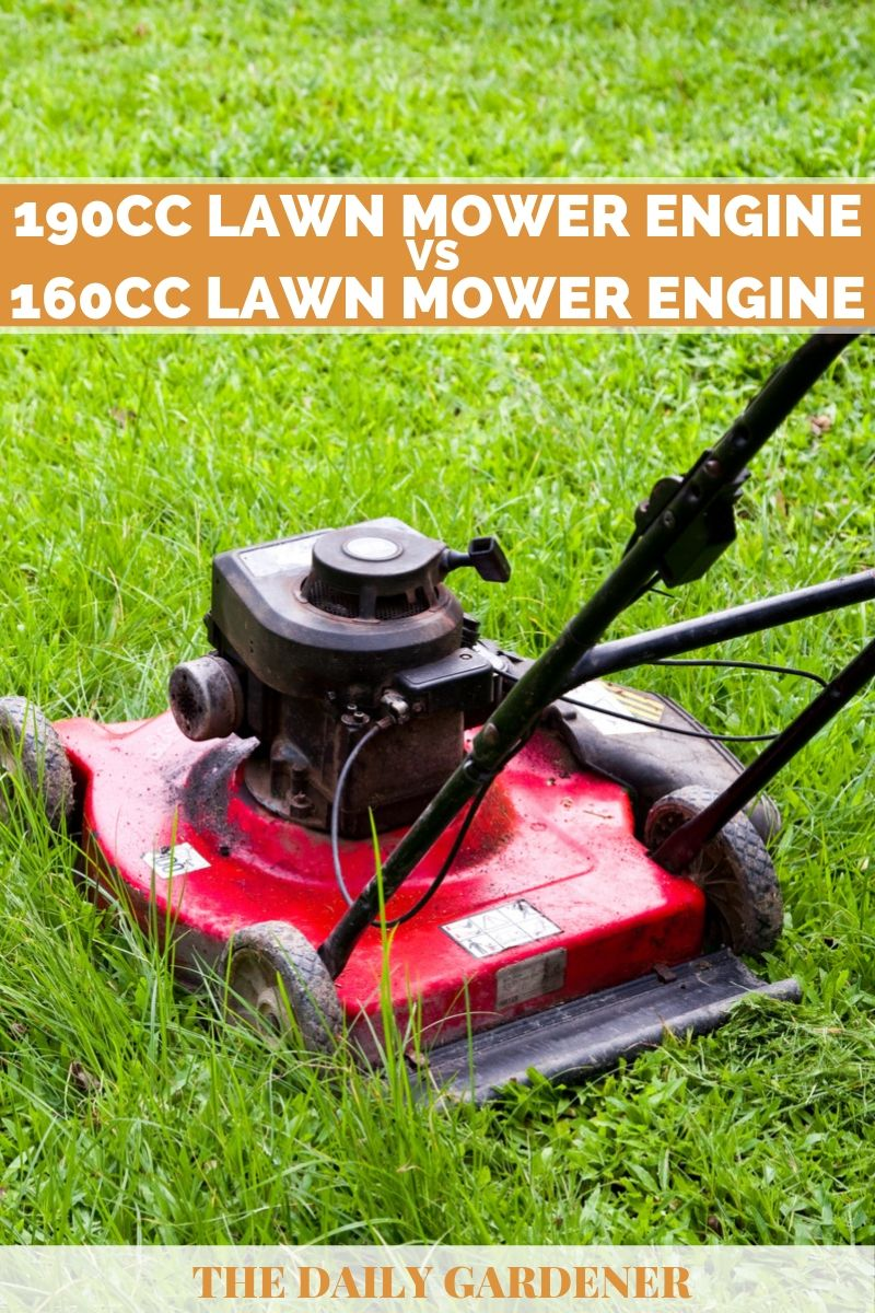 160cc vs 190cc Lawn Mower Engine 2