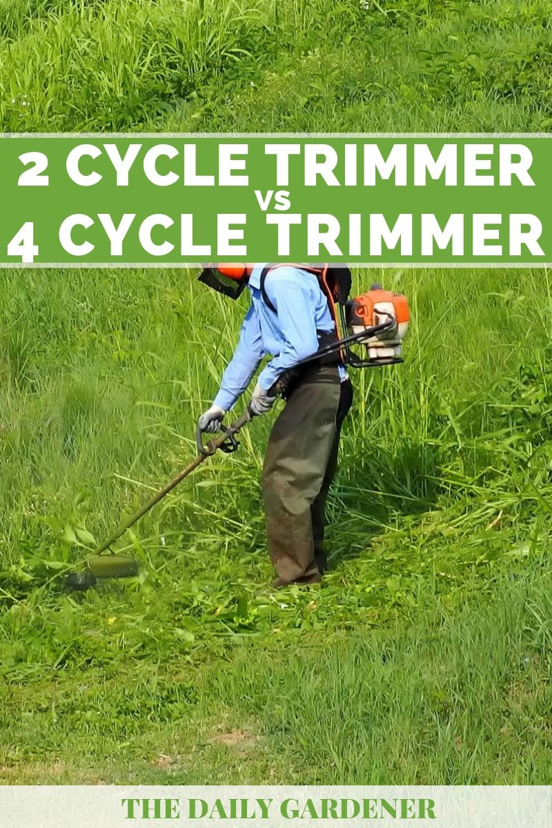 2 Cycle vs. 4 Cycle Trimmer 1