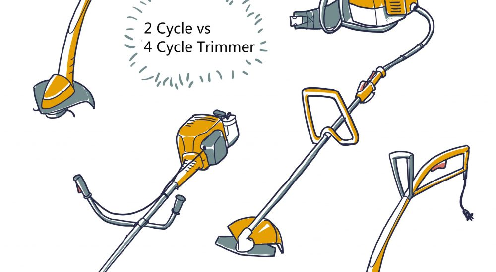 2 Cycle vs  4 Cycle Trimmer: Which is Right for You? - The