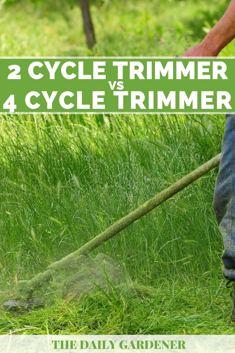 2 Cycle vs. 4 Cycle Trimmer 2