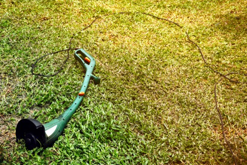 Battery Powered Weed Eater alternative