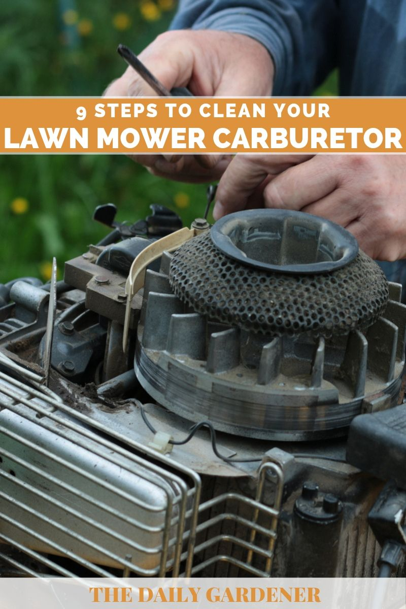 Clean Your Lawn mower Carburetor 1