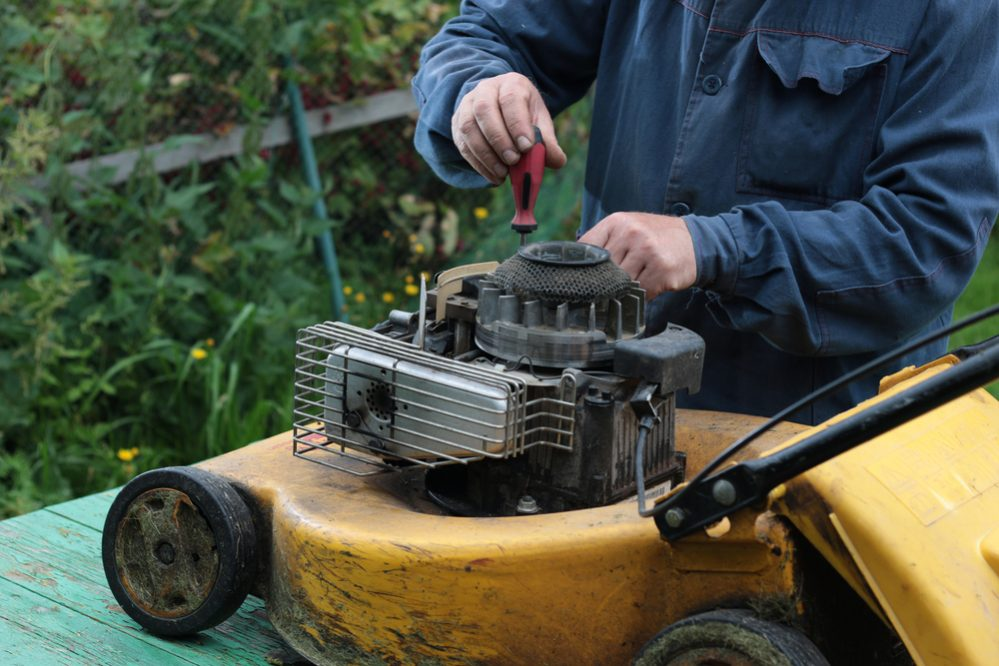 Lawn Mower Stops After Starting a Few Minutes? - The Daily