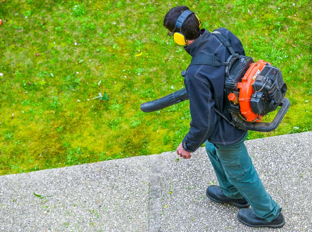 Gas-powered leaf blowers – the cons