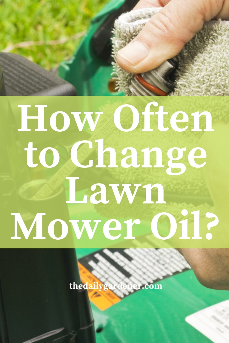 How Often to Change Lawn Mower Oil