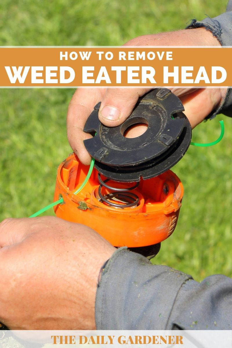 How to Remove Weed Eater Head 1
