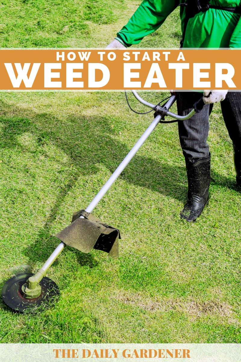 How to Start a Weed Eater 1