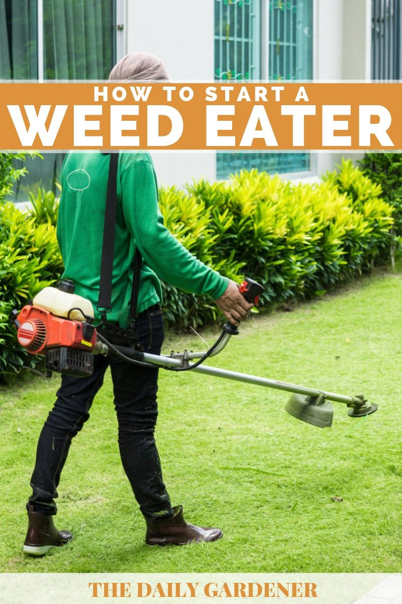 How to Start a Weed Eater 2