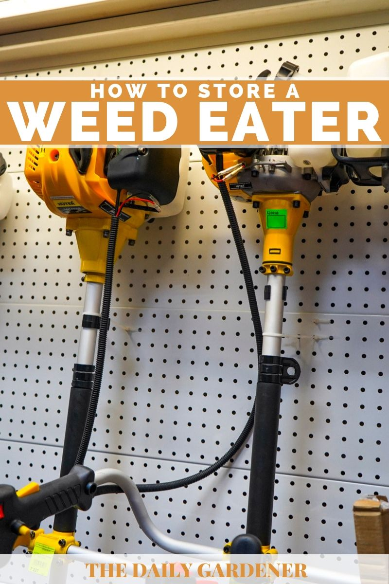 How to Store a Weed Eater 1