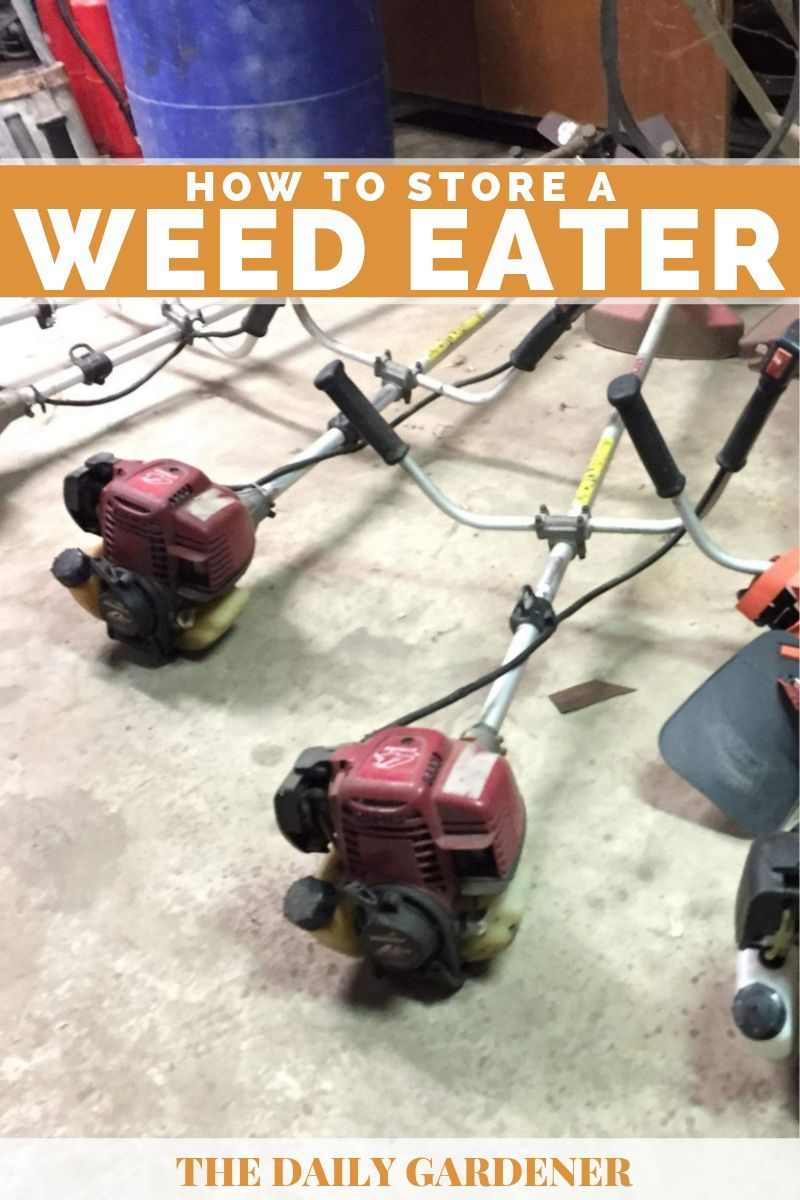 How to Store a Weed Eater 2