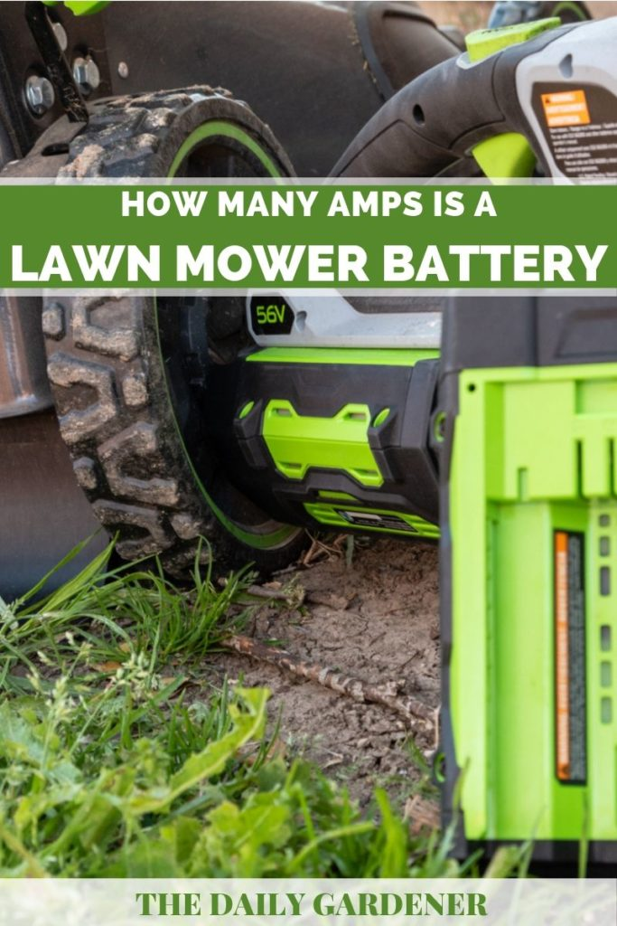 Lawn Mower Battery 2