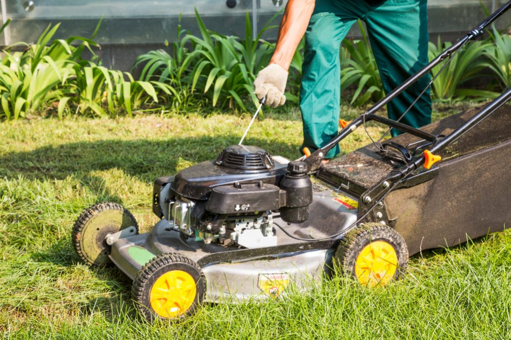 Lawn Mower Hard to Start When Cold