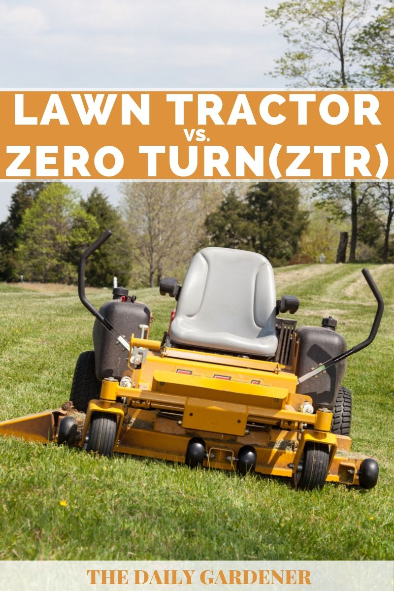 Lawn Tractor vs  Zero Turn (ZTR): How to Make a Right Choice