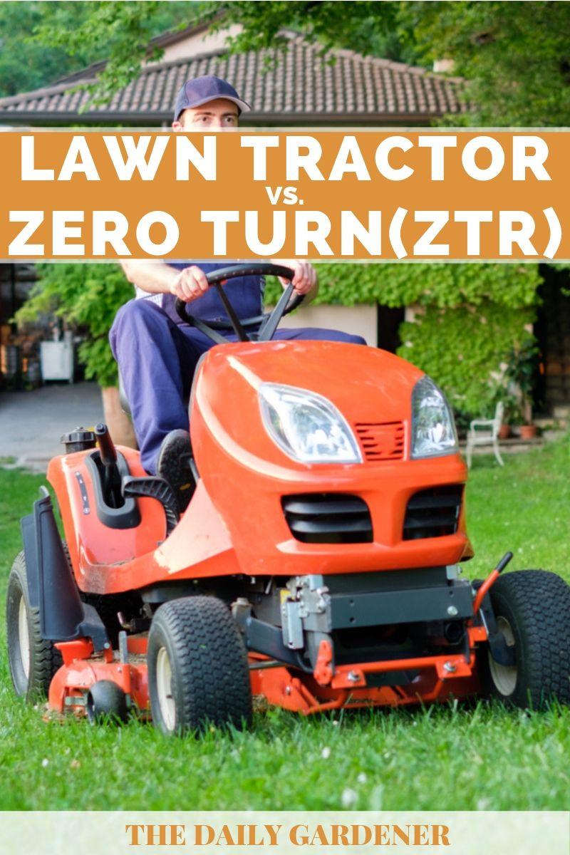 Lawn Tractor vs. Zero Turn 2