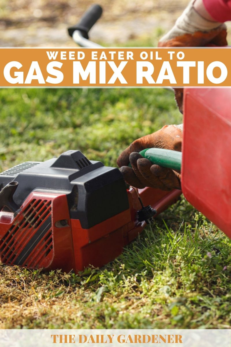 What's the Proper Weed Eater Oil to Gas Mix Ratio? - The