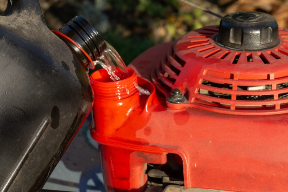 When to change oil for Lawn Mower