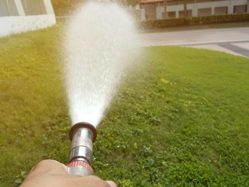 garden hose reel Water Flow