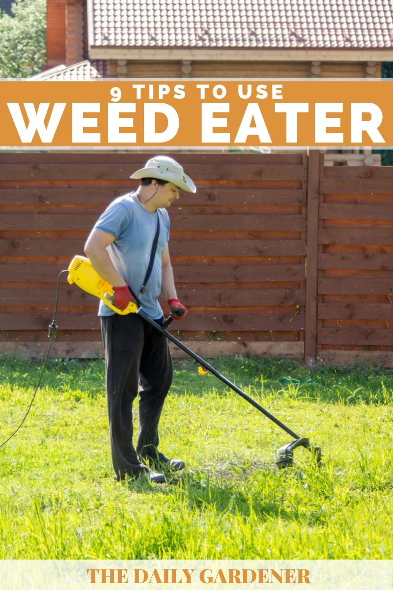how to use weed eater 1