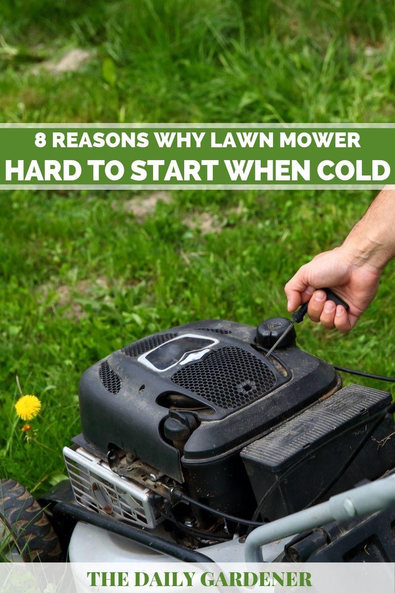 lawn mower hard to start 1