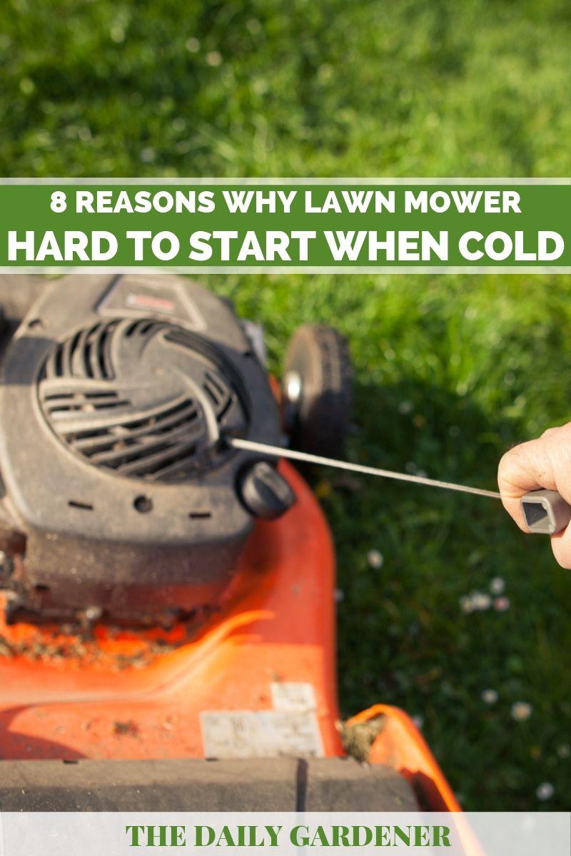 lawn mower hard to start 2