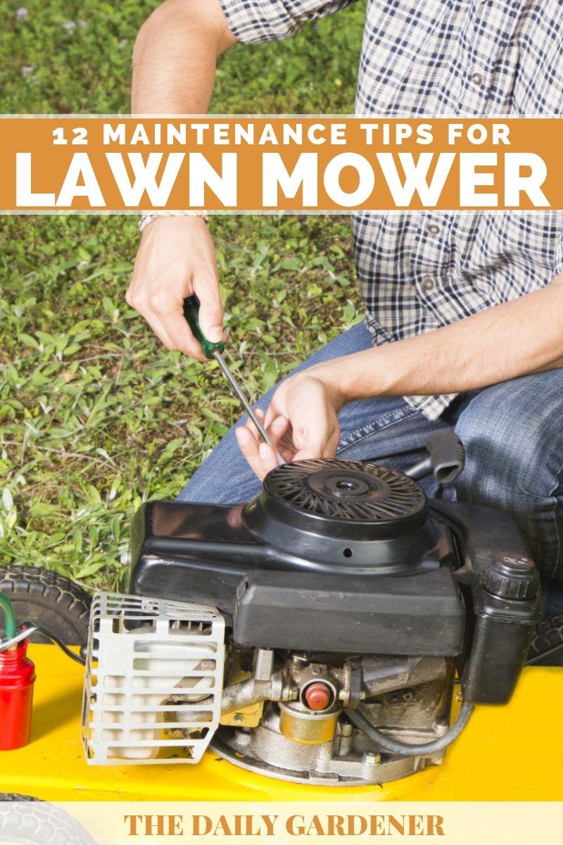 lawn mower maintenance 1