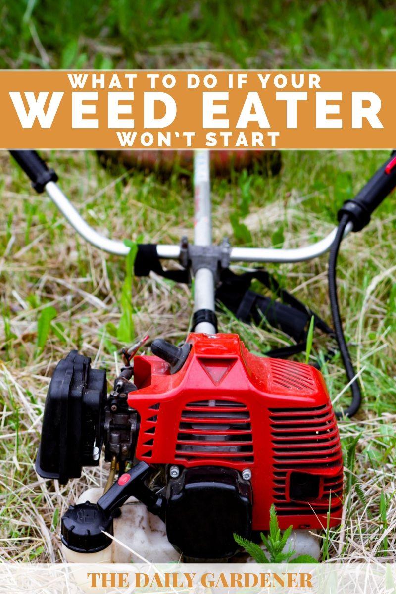 weed eater wont start 3