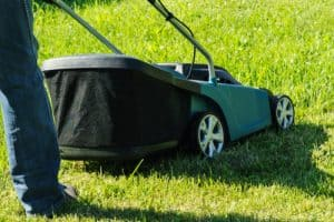 2-In-1 electric lawn mower