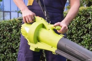 Best Battery Powered Leaf Blower weight