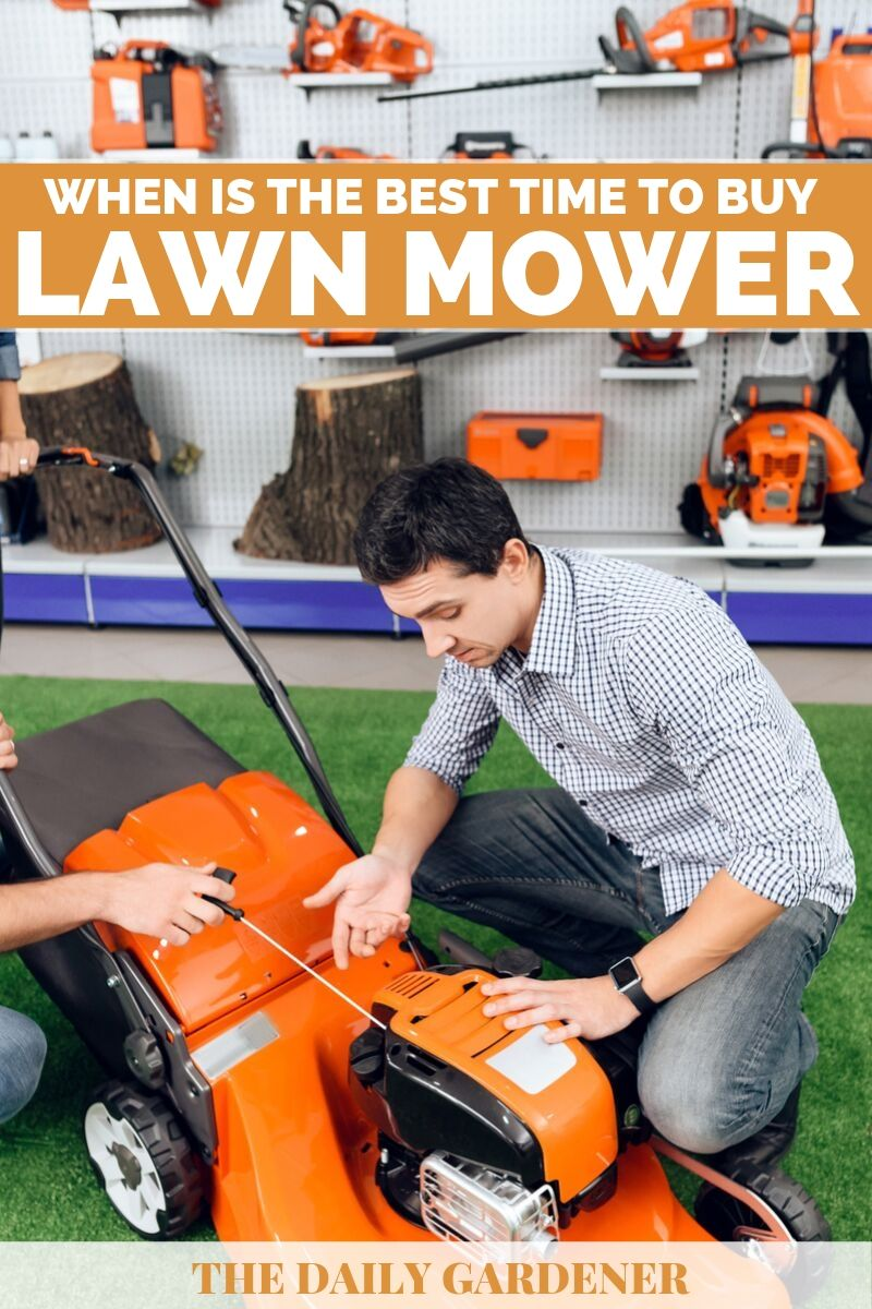 Best Time to Buy a Lawn Mower 1