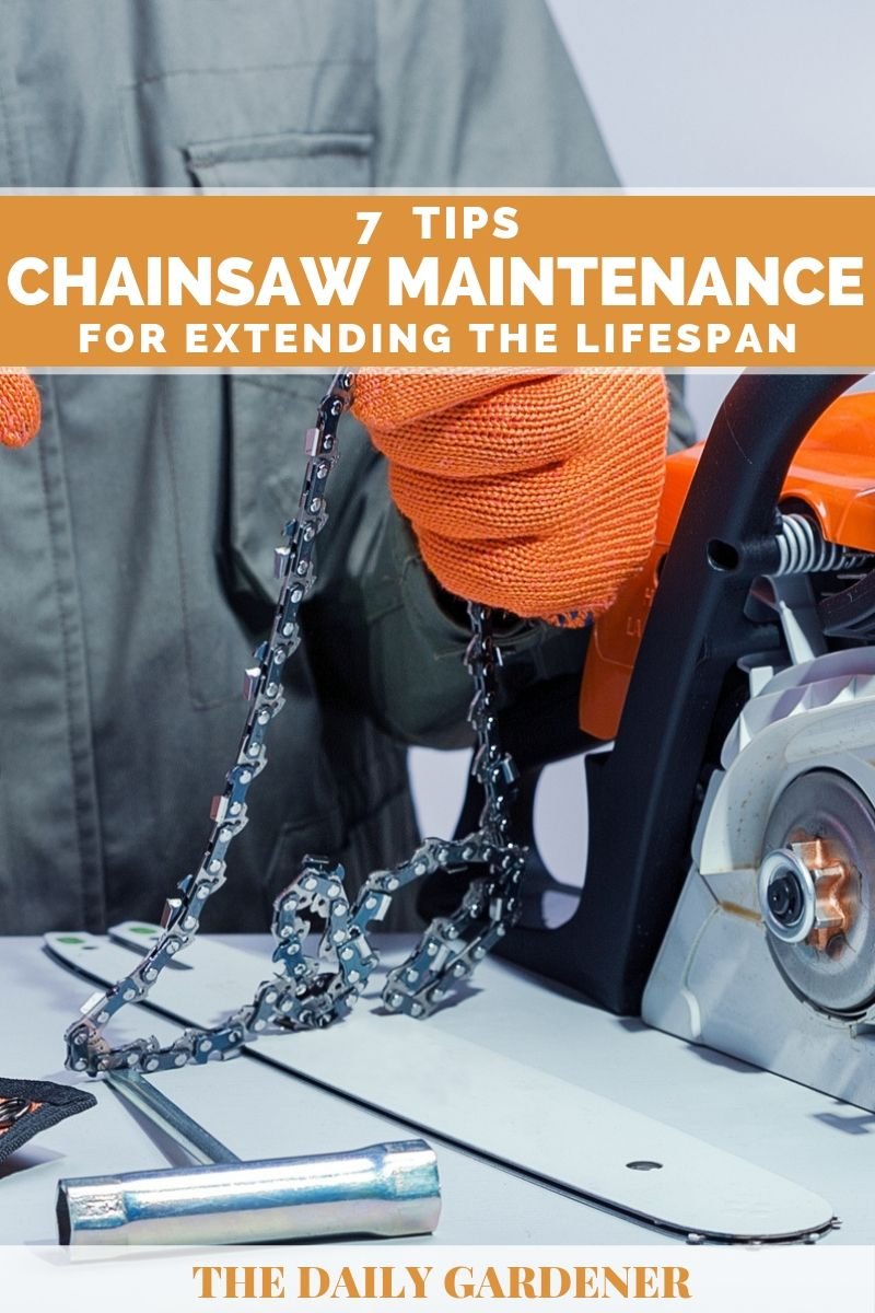 Chainsaw Maintenance 6