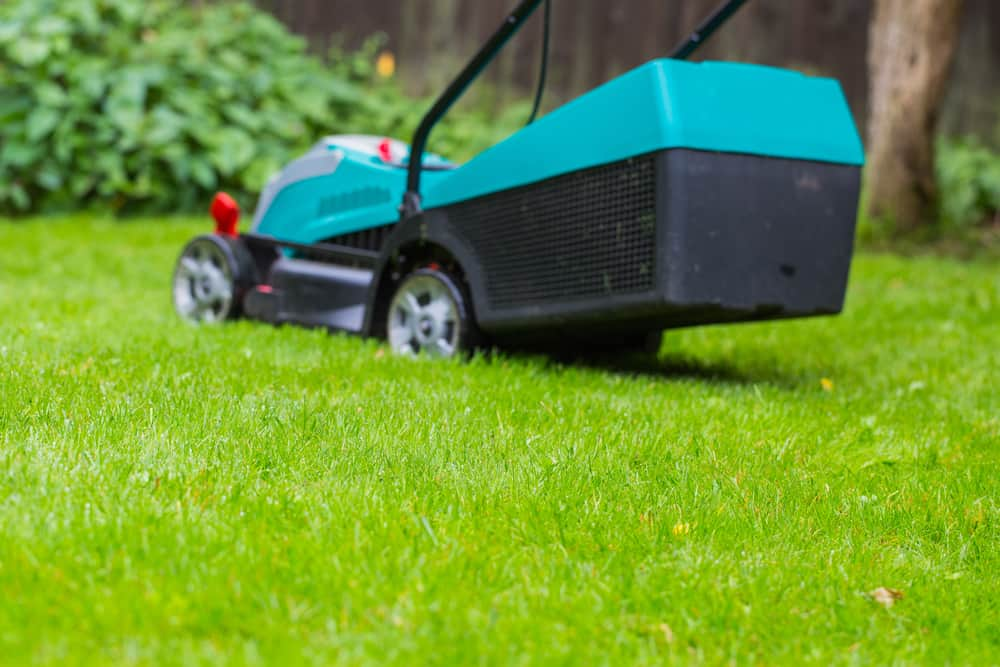Cordless battery power lawn mower