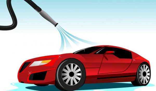 Dry Your Car with a Leaf Blower