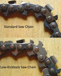 Electric Chainsaw low-kickback bar