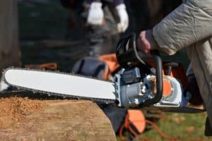 Electric Chainsaw size