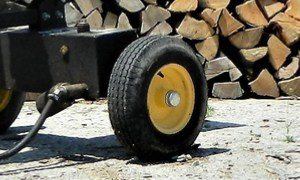 Electric Log Splitter Mobility