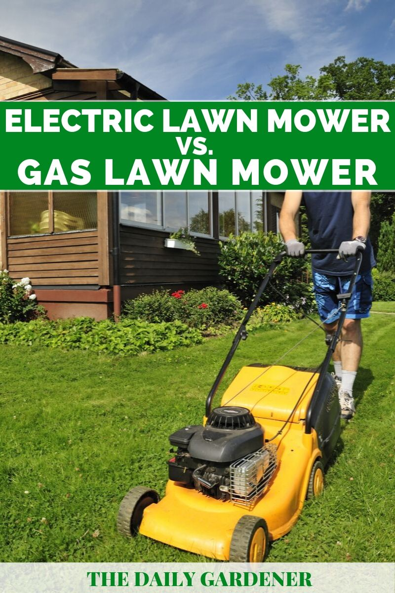 Electric Vs. Gas Lawn Mower 3