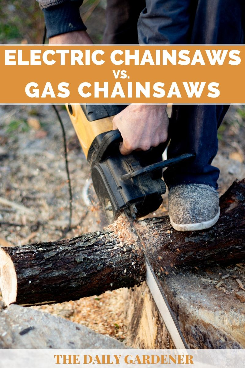 Electric vs. Gas Chainsaws 4
