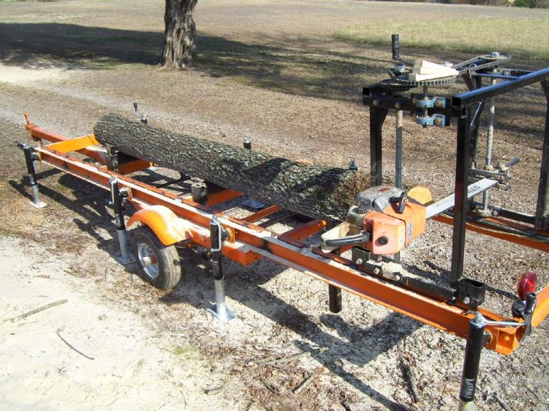 High-quality large chainsaw mill DIY