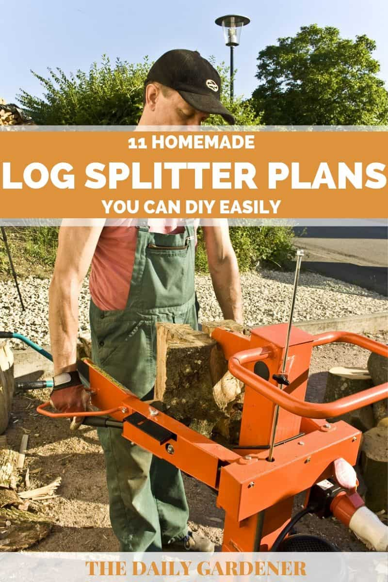 Homemade Log Splitter Plans