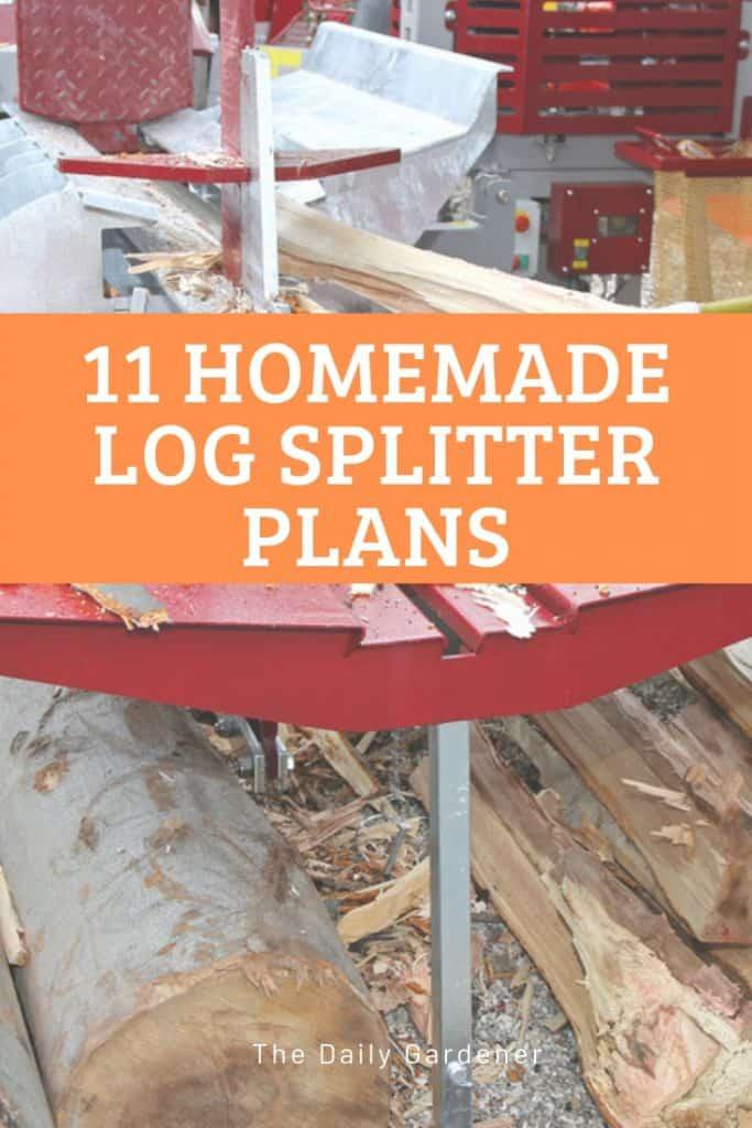 Homemade Log Splitter Plans