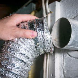 How to Clean a Dryer Vent with a Leaf Blower