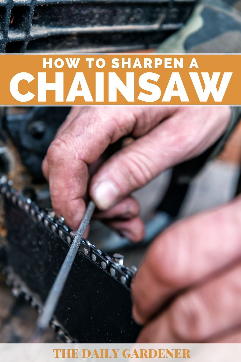 How to Sharpen a Chainsaw 2